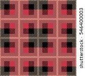 tartan seamless vector patterns ... | Shutterstock .eps vector #546400003