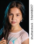 portrait of a beautiful young...   Shutterstock . vector #546448057