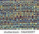 geometrical abstract pattern.... | Shutterstock . vector #546450097