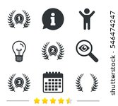 laurel wreath award icons.... | Shutterstock .eps vector #546474247
