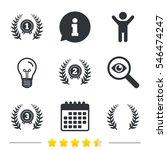 laurel wreath award icons.... | Shutterstock .eps vector #546474247