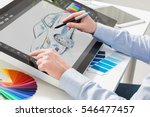 designer graphic drawing car... | Shutterstock . vector #546477457