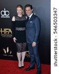 Small photo of BEVERLY HILLS, CA. November 6, 2016: Actress Bryce Dallas Howard & actor Edgar Ramirez at the 2016 Hollywood Film Awards at the Beverly Hilton Hotel.