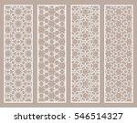 decorative white lace borders...   Shutterstock .eps vector #546514327