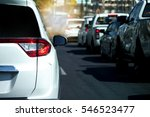 cars on the road heading... | Shutterstock . vector #546523477