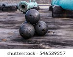 Cannon Balls And Cannons