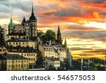 Cityscape Of Stockholm City ...