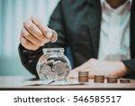 close up of business man hand...   Shutterstock . vector #546585517