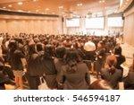 blur image the meeting room | Shutterstock . vector #546594187