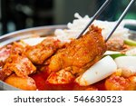 Dakbokkeumtang  Braised Spicy...