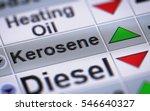 index of kerosene. up.   Shutterstock . vector #546640327