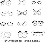 cartoon eyes   Shutterstock .eps vector #546653563