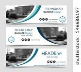white horizontal business... | Shutterstock .eps vector #546686197