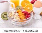 healthy breakfast | Shutterstock . vector #546705763