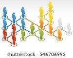 social network | Shutterstock .eps vector #546706993
