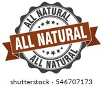 all natural. stamp. sticker.... | Shutterstock .eps vector #546707173