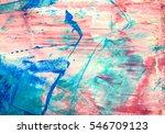 original abstract acrylic color ... | Shutterstock . vector #546709123