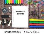 automotive industry | Shutterstock . vector #546724513