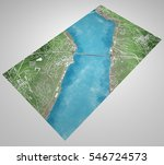 istanbul map  satellite view ... | Shutterstock . vector #546724573