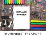 compliance regulation | Shutterstock . vector #546724747