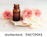 rose aromatherapy. essential... | Shutterstock . vector #546729043