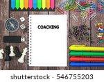 coaching | Shutterstock . vector #546755203