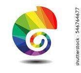 rainbow's colored chameleon