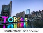 Toronto City Hall And Toronto...