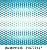 abstract geometric blue deco... | Shutterstock .eps vector #546779617