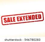 illustration of sale extended... | Shutterstock .eps vector #546780283
