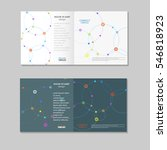 vector abstract technology... | Shutterstock .eps vector #546818923