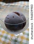Small photo of ice cream/chocolate gelato/ gelato