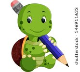 cute turtle cartoon | Shutterstock .eps vector #546911623