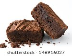 Chocolate Brownie Pieces...