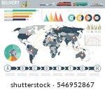 world transportation and... | Shutterstock .eps vector #546952867