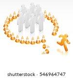 breakout freedom | Shutterstock .eps vector #546964747