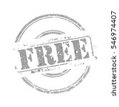 free gray rubber stamp vector... | Shutterstock .eps vector #546974407