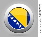 national flag of bosnia and... | Shutterstock .eps vector #546977023