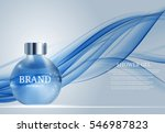 shower gel bottle template for... | Shutterstock .eps vector #546987823
