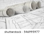 architectural project | Shutterstock . vector #546995977