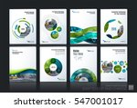 business vector. brochure... | Shutterstock .eps vector #547001017