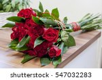 Luxury Bouquet Made Of Red...