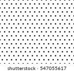 vector monochrome seamless... | Shutterstock .eps vector #547055617