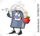 school physics textbook bump... | Shutterstock .eps vector #547081747