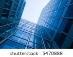 blue glass skyscraper | Shutterstock . vector #5470888