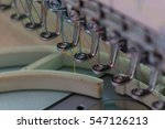 embroidery machine needle in... | Shutterstock . vector #547126213
