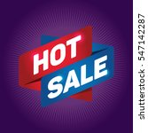 hot sale arrow tag sign. | Shutterstock .eps vector #547142287