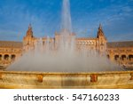 Fountain On Plaza De Espana  ...