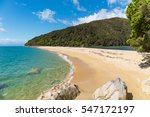 Beach At Abel Tasman National...