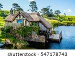 Mill At Hobbiton Movie Set  Ne...